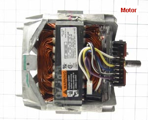 wpl_w_dd_motor1 testing and replacing drive motor for whirlpool washing machines whirlpool dryer motor wiring diagram at bayanpartner.co