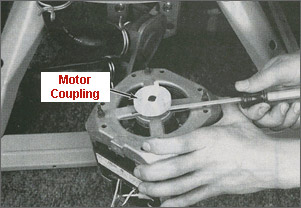 Continued washing machine probs updated in op again for Washing machine motor coupler replacement