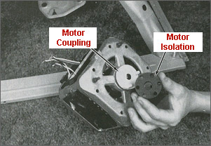 Testing and replacing motor coupling for whirlpool washing for Washing machine motor coupler replacement
